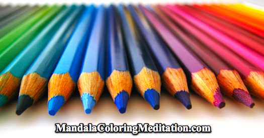Be sure to use high quality coloring pencils to color your mandala coloring pages!