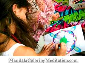 Express your true colors through mandala coloring