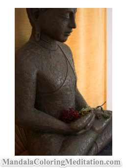 Meditation and Mandala Coloring