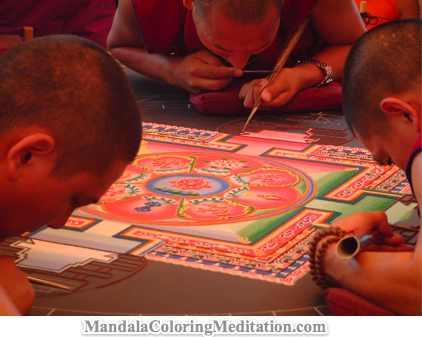 A Tibetan Sand Mandala Meditation