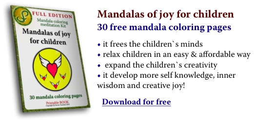 New free printable children mandala coloring pages
