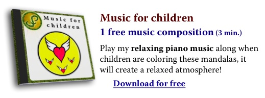 Relaxing music for children while coloring...