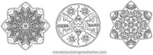 Mandalas to Colour - sneak preview
