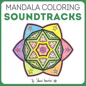music composed for adult coloring books