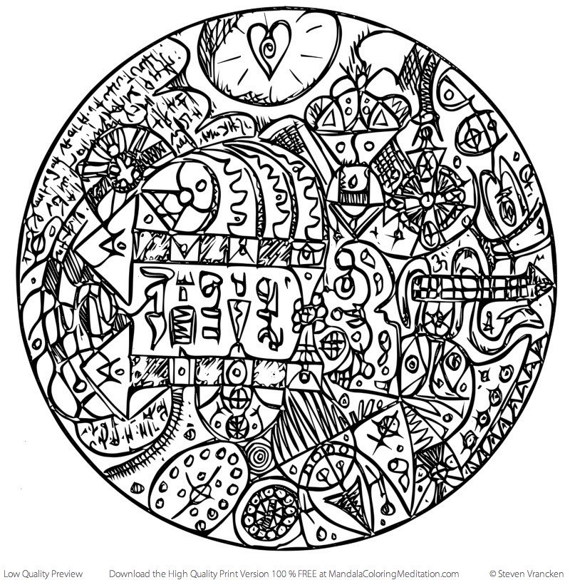 ANNOUNCING 10 FREE Adult Mandalas To Color - Are you ready to ...